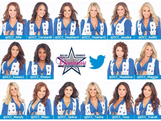 Check out the Dallas Cowboys Rookie Cheerleaders