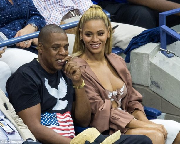Beyonce Lets Em Breathe at US Open