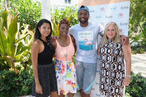 D-Wade Does Good in Turks & Caicos