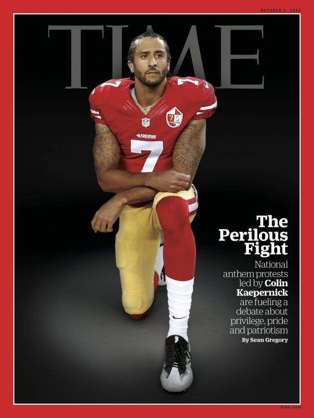 Colin Kaepernick Covers Time Magazine
