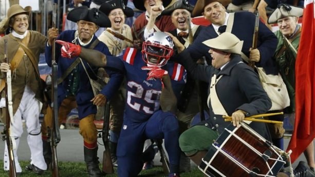 LeGarrette Blount All About the Minutemen