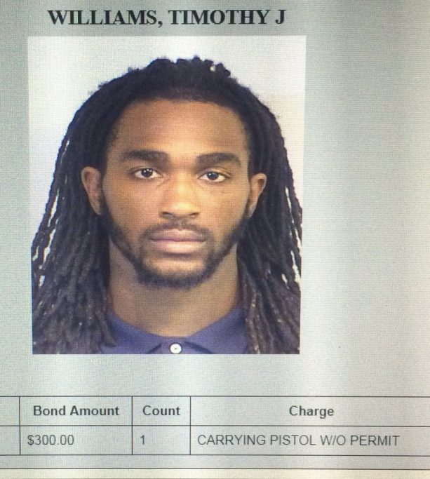 Alabama Linebacker Busted For Carrying Pistol Without Permit
