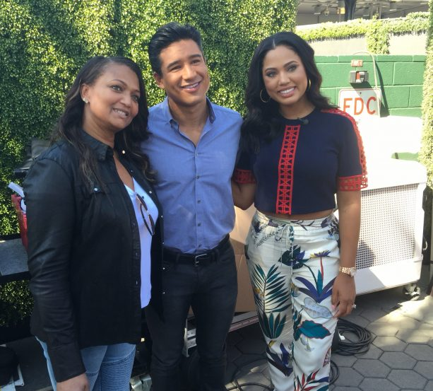 Ayesha Curry Hangs with AC Slater