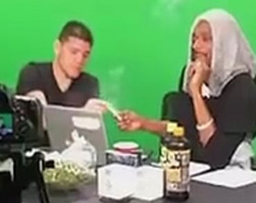 UFC Legend Nick Diaz and Snoop Dogg Passing a Blunt