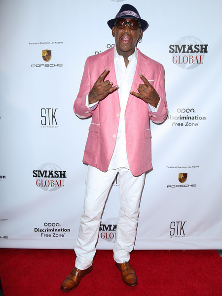 Dennis Rodman Continues Hit The Red Carpets