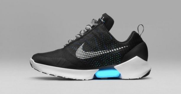 Check out the Nike Self Lacing Shoe