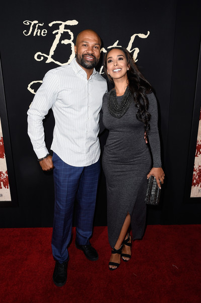 Derek Fisher and Basketball Wife Hit the Red Carpet