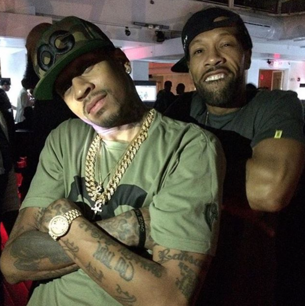 Allen Iverson Spotted Hanging Out With Redman