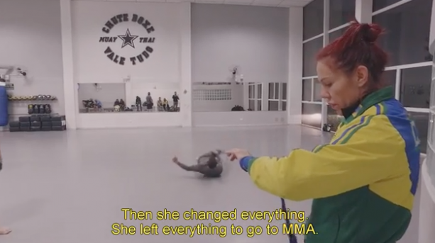 UFC Star Cris Cyborg Biographical Documentary