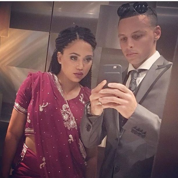 Steph Curry's Wife Starting To Show?