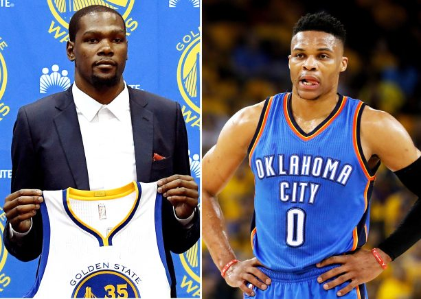 KD Clarifies Relationship with Russell Westbrook