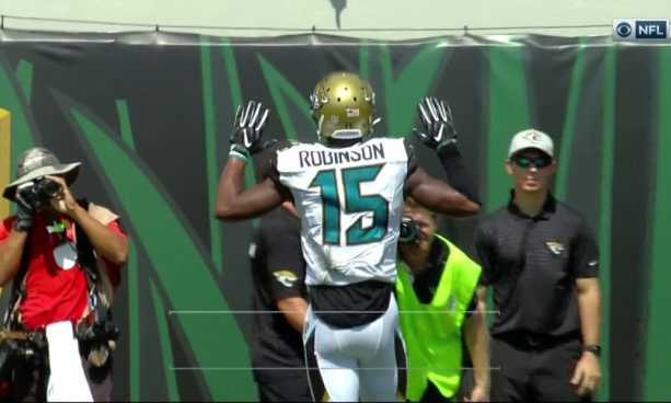 Allen Robinson Don't Shoot Touchdown Celebration
