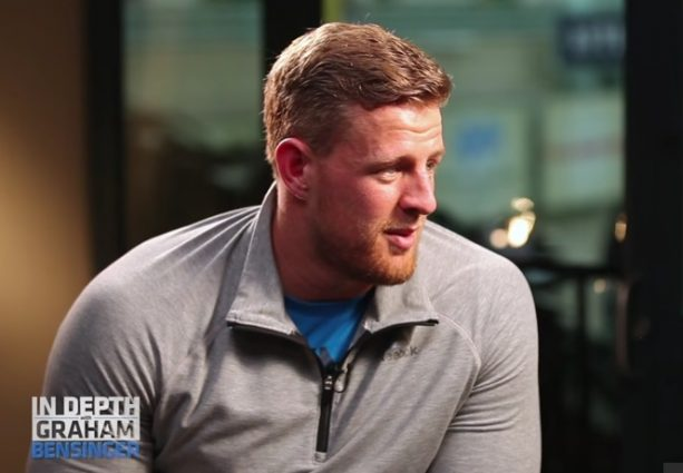 JJ Watt's Thinks His next girlfriend will need thick skin