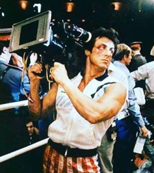 Sly Stallone Shares Rocky versus Drago Pics