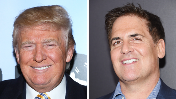 Pro TRUMP'ers Begin Assault on Mark Cuban