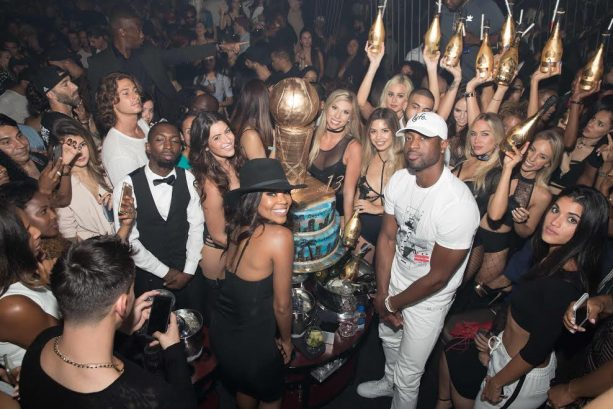 Dwyane Wade Says Farewell to Miami with Private Dinner and After Party
