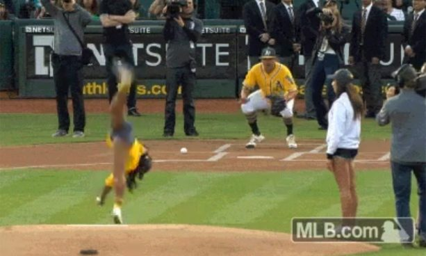 When the Cartwheel is Better than the Pitch