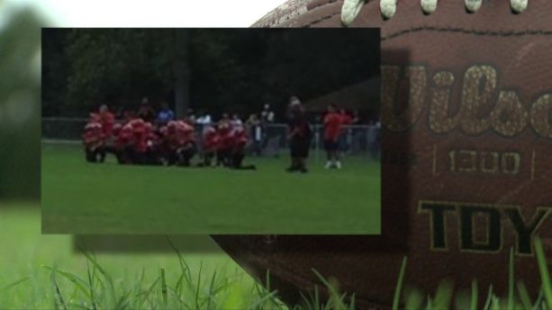 Parents Outraged After Youth football team takes knee during national anthem