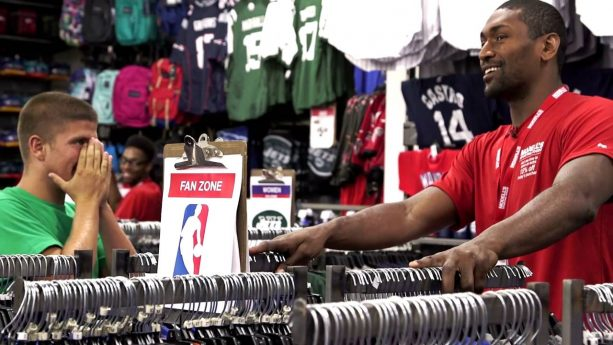 Metta World Peace – Modell's Undercover Associate