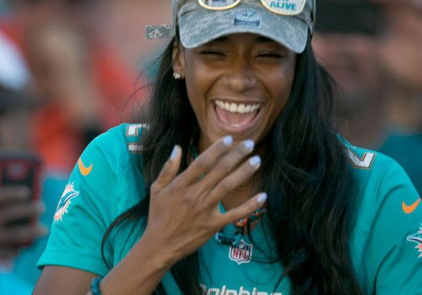 Dolphins Wife Goes Vulgar on Miami Dolphins Beat Writer
