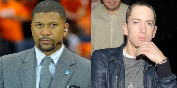Jalen Rose Responds to Eminem's LYRICS About His girlfriend Molly Qerim!