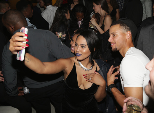 Ayesha Curry Lets em Breathe at Under Armour Curry 3 Launch