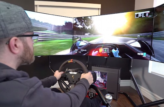 Checkout This $35k Racing Simulator