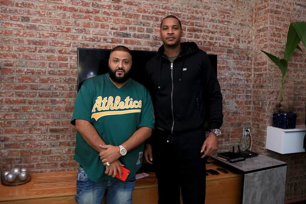 Melo and DJ Khaled Couple up
