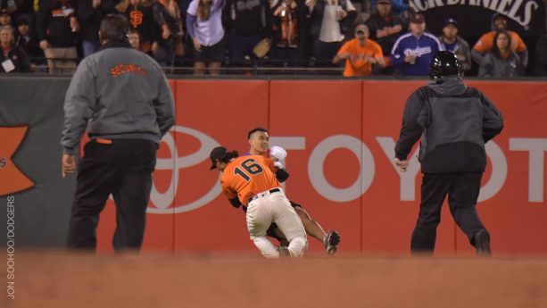 Giants Player Goes Straight WWE On A Fan