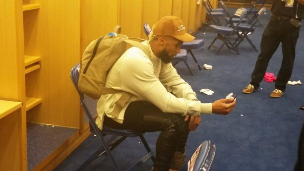 Odell Beckham Jr Face Timing With Dion Sanders