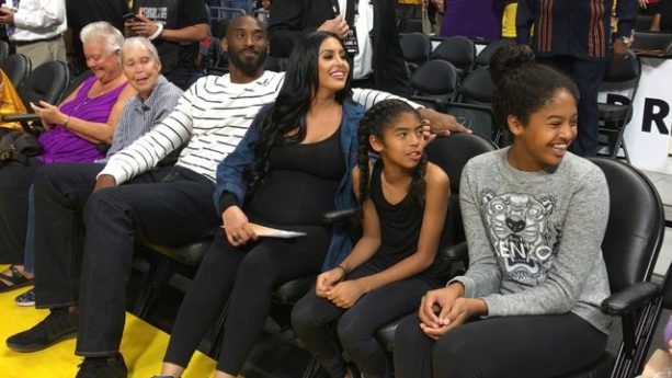 Kobe Bryant Returns to Staples for WNBA Finals