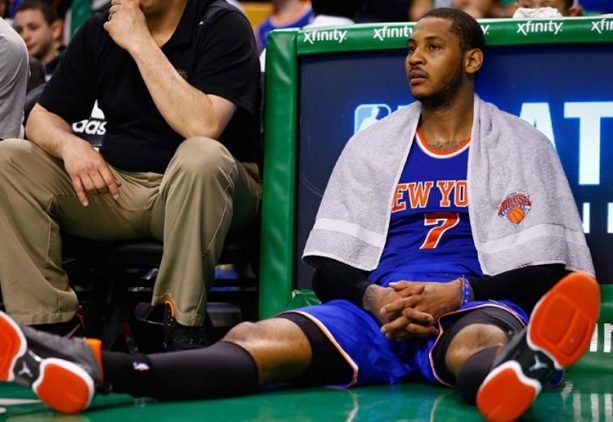 Carmelo Anthony Fires Back at Slam Magazine's Rankings