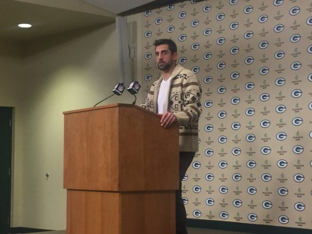 Aaron Rodgers Pays Homage to The DUDE