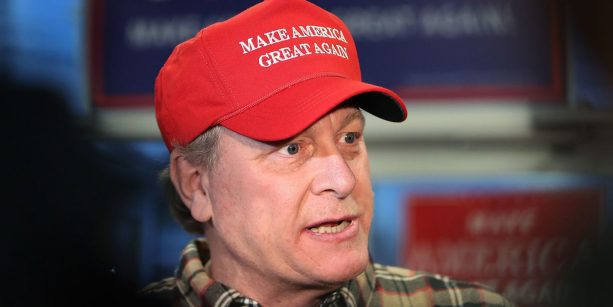 Curt Schilling Holds Trump Rally