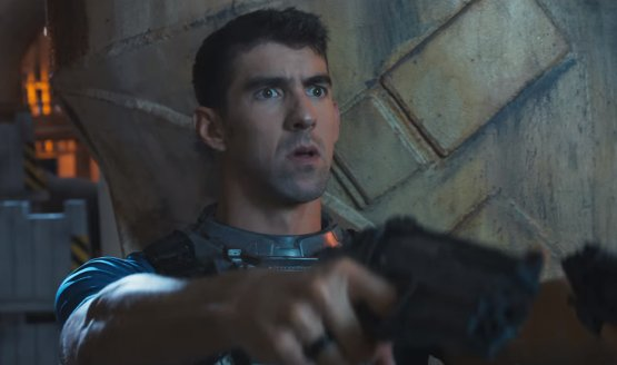 Michael Phelps Stars with Danny McBride in Call of Duty Spot
