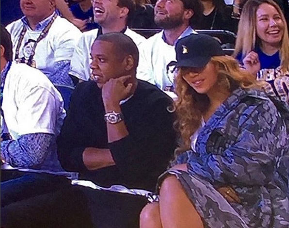 You Know the NBA is BACK When Jay and Beyonce are Court-side