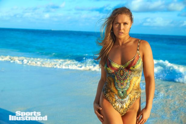 Never Before Seen Ronda Rousey Body Paint Photos