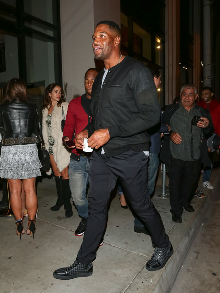 Michael Strahan Loves Him Some Hollywood