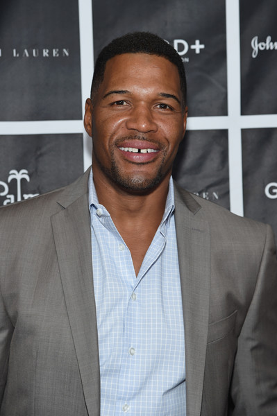 Michael Strahan Hangs with Seinfeld and NPH