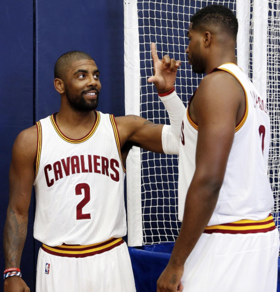 Kyrie Irving Lets Tristan Thompson Know What He Thinks Of Khloe