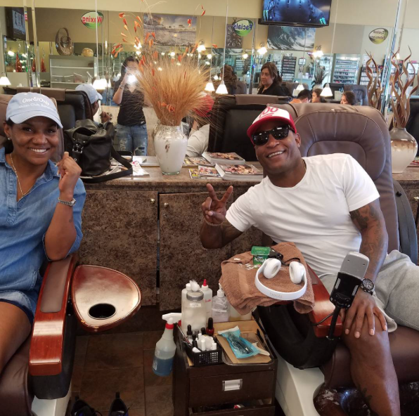 The Babysitter Takes LeBron's Mom For A Pedicure