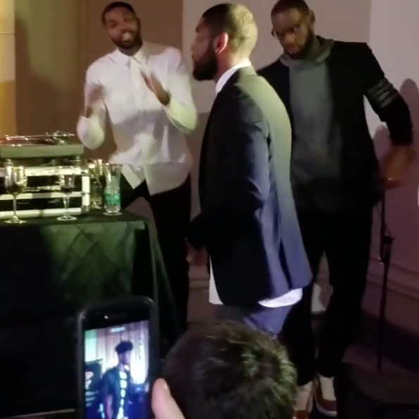 Cavaliers Still Partying At Season Ticket Holder Event