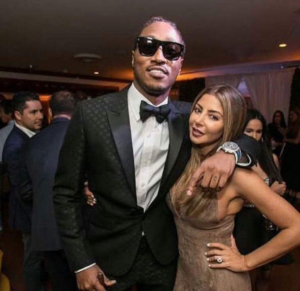 Scottie Pippen's Wife Hanging Out With Future