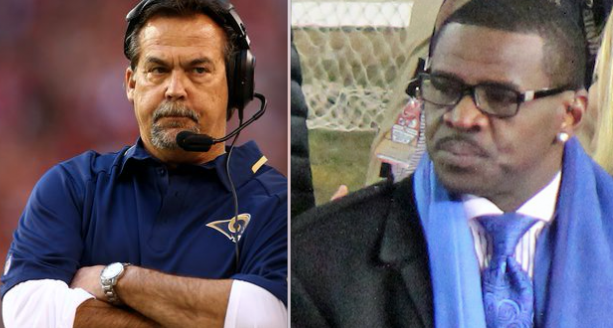 Michael Irvin Call Out Rams Coach Jeff Fisher