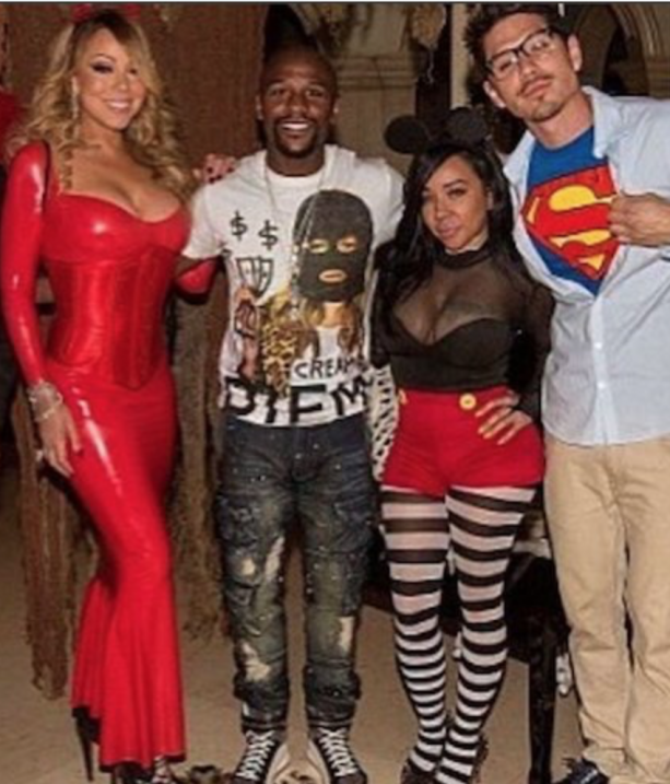 Floyd Mayweather's Double Date With Mariah & Backup Dancer?