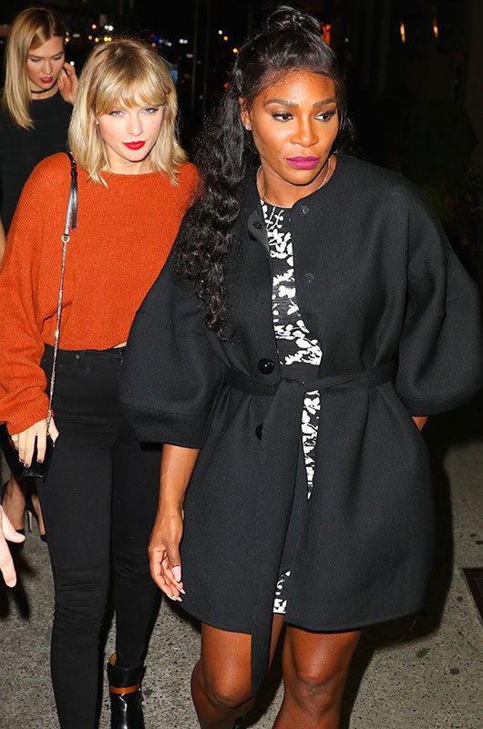 Serena Williams Hanging With Taylor Swift Makes Me Want To Puke