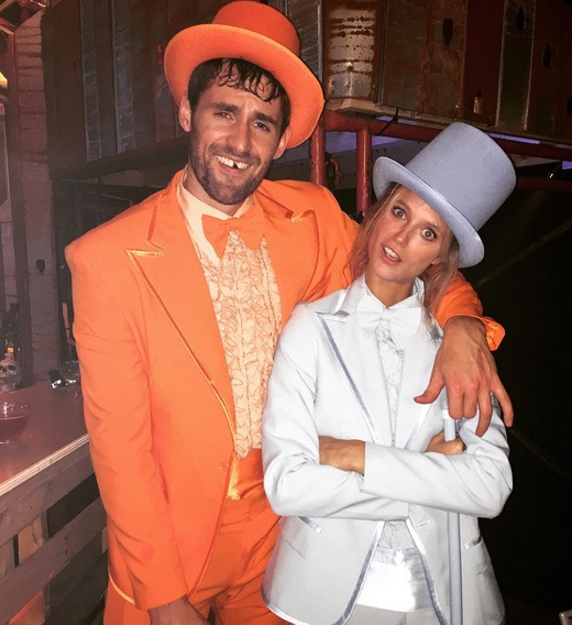 Kevin Love and SI Model Nail Halloween