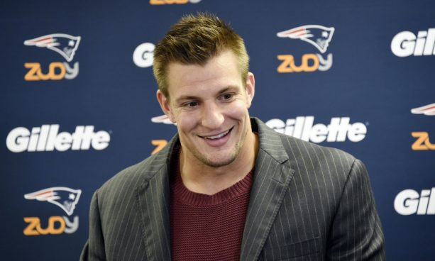 Rob Gronkowski is All about that 69