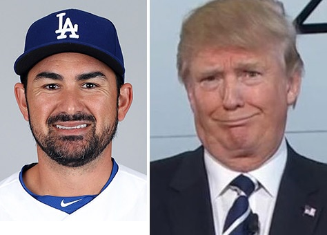 Adrian Gonzalez is Not a Big Donald Trump Fan