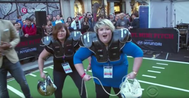 James Corden's Sisters Invade the NFL in London